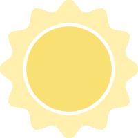 晴太阳天气
