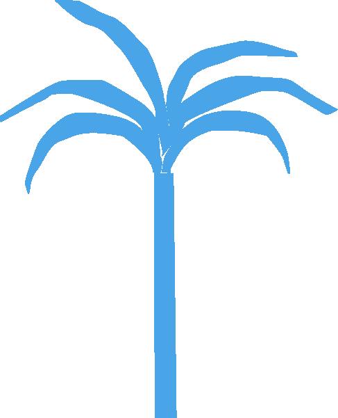 树椰子树植物手绘装饰
