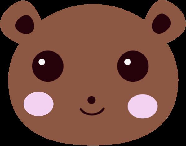 熊小熊頭像動物卡通