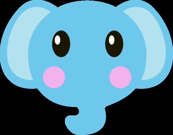 象大象頭像動物小動物