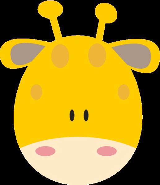 長頸鹿頭像動物小動物萌寵