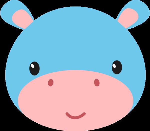 牛奶牛頭像動物卡通
