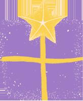 礼盒礼物盒子星星