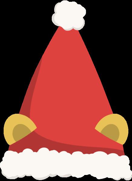 帽子耳朵圣诞节圣诞帽卡通