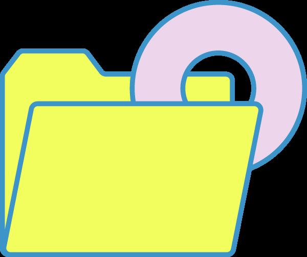 文件夹文档收藏夹办公软件