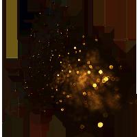 金色粉末粒子雜點商務