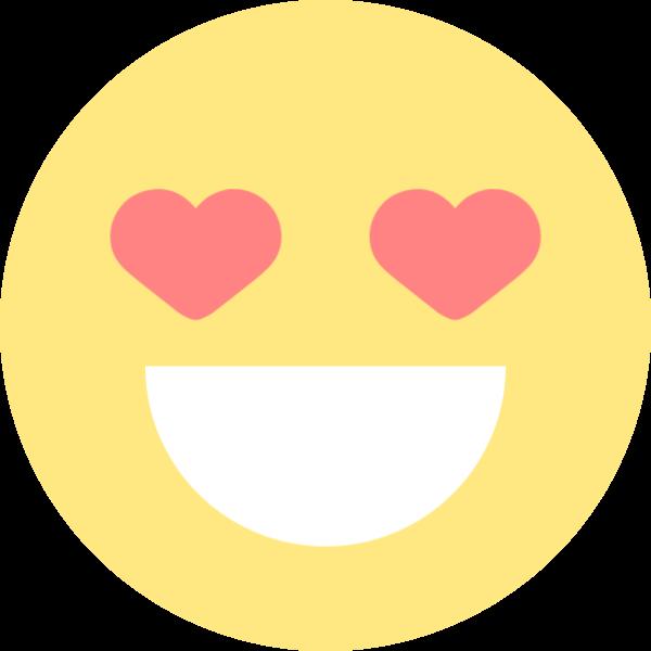 表情色喜欢emoji圆