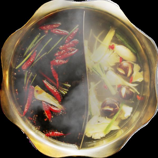 火锅鸳鸯锅餐饮食物食品