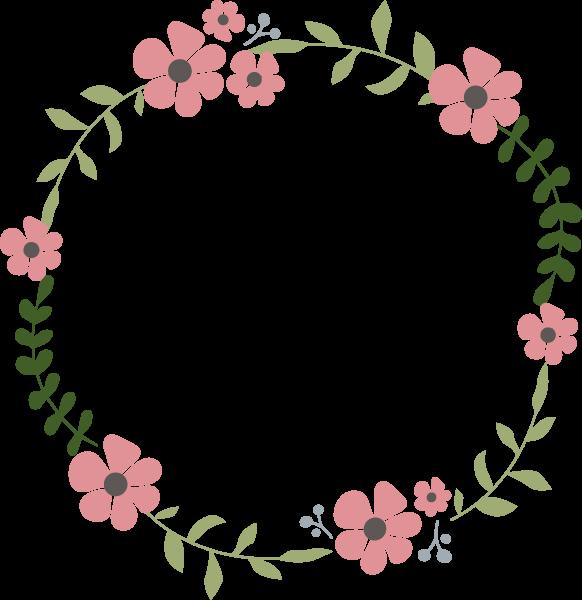 树叶枝条花朵植物花