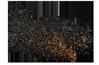 金色粒子粉末雜點商務