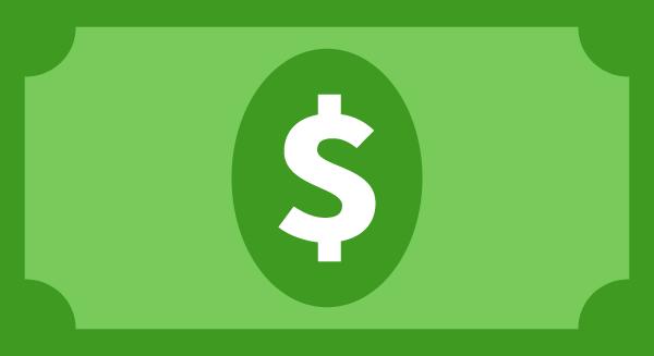 纸币美元金币钱货币