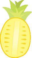 水果卡通插画手绘