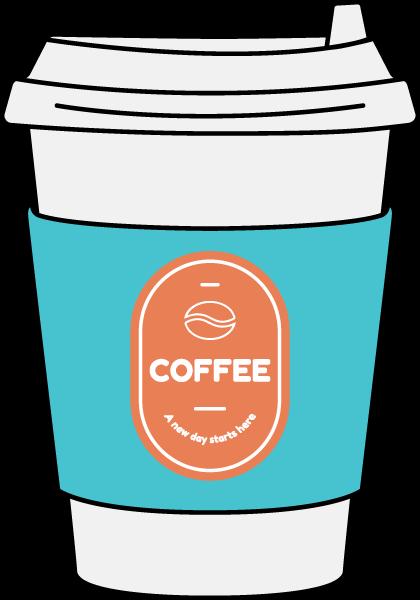 咖啡杯水饮料夏天果汁