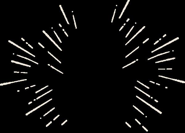 装饰发光爆炸
