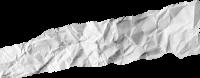 撕纸纹理装饰碎纸屑白色