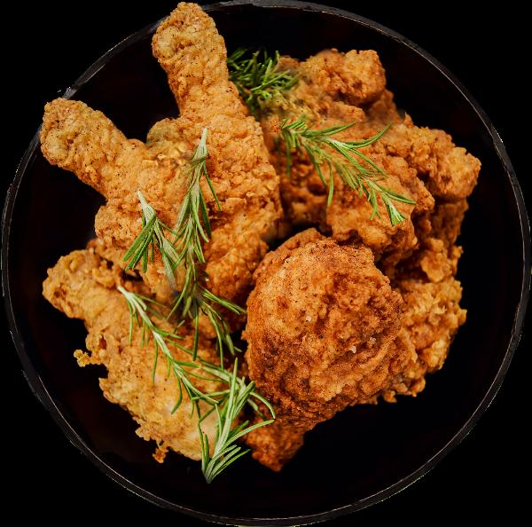 炸鸡肉鸡肉食物快餐