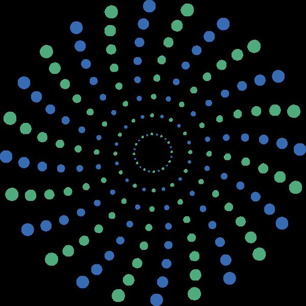 圆形圆渐变纹理底纹