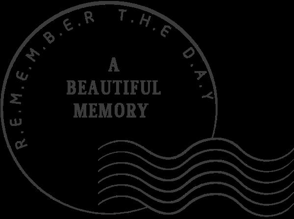 邮戳标记盖章回忆标签