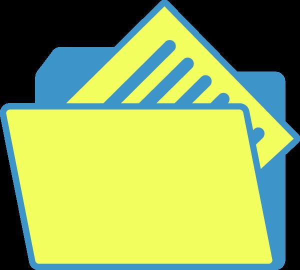 文件纸张文件夹文档收藏夹
