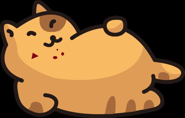 小猫橘猫胖猫猫咪慵懒