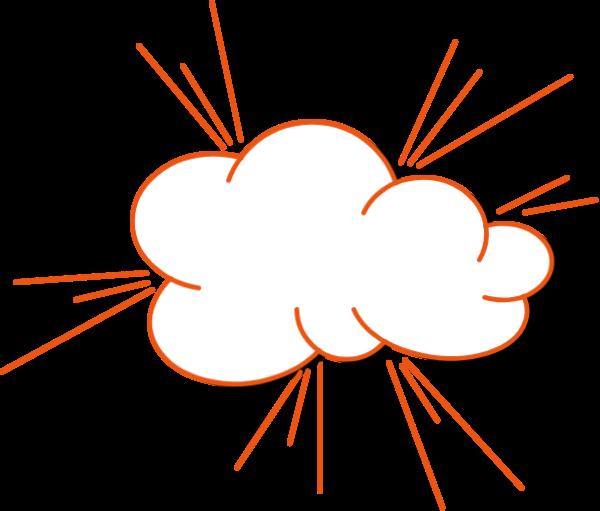 云云朵爆炸碰撞漫画