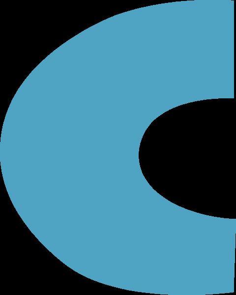 字母c文字字体设计英文