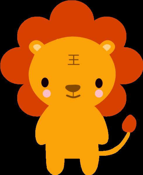獅子小獅子獅子座頭像動物
