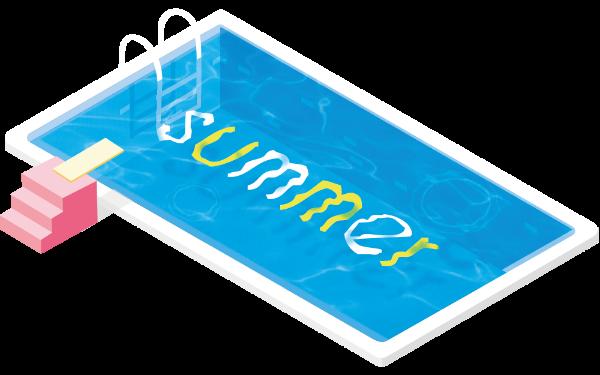 summer游泳池泳池游泳跳水