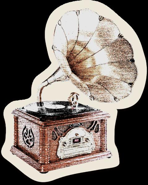 留声机音乐复古照片古典