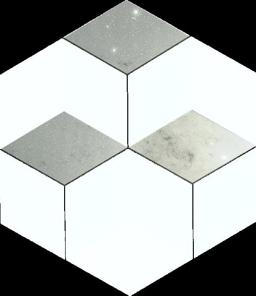 三菱正方体立方体三维几何图形