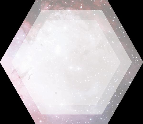 六边形几何图形框边框莫比乌斯