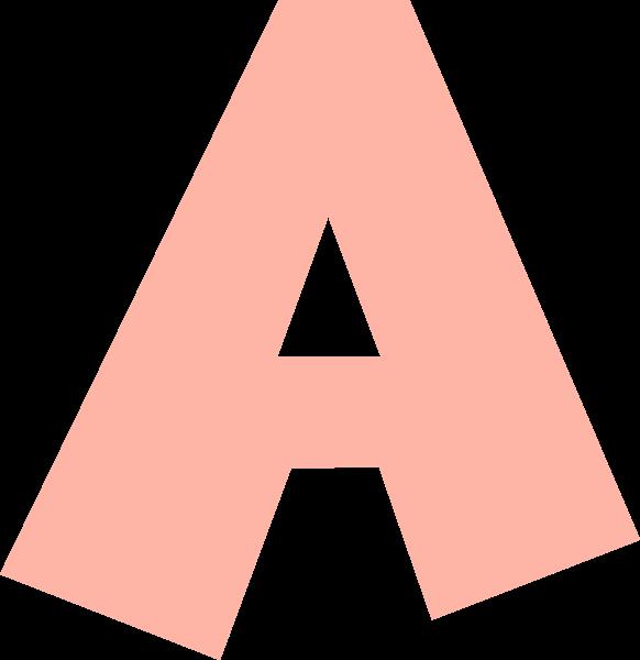 字母a文字字体设计英文