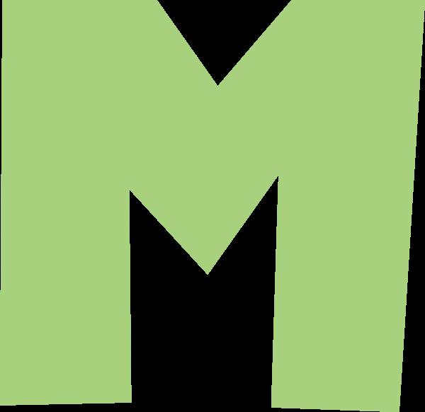 字母m文字字体设计英文