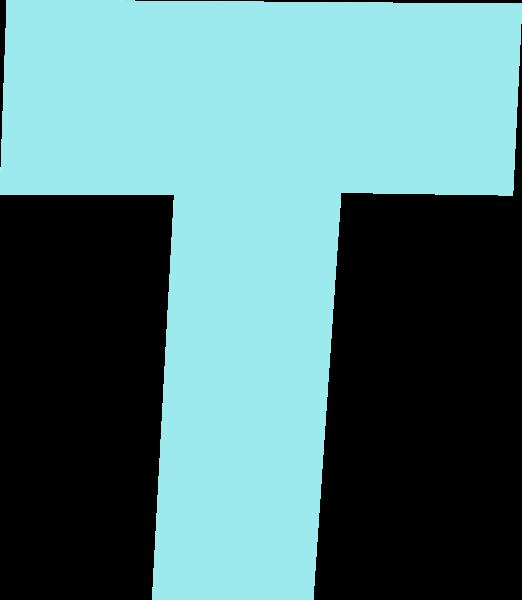 字母t文字字体设计英文