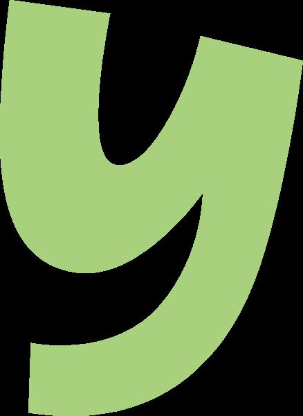 字母y文字字体设计英文