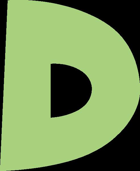 字母d文字字体设计英文