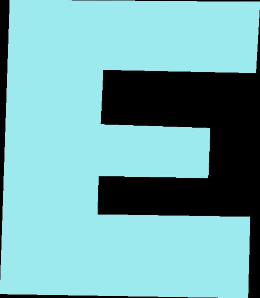 字母e文字字体设计英文