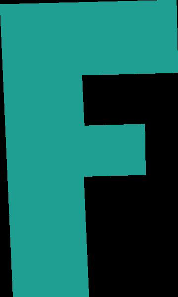 字母f文字字体设计英文