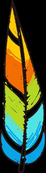 羽毛彩色巴西奥运会特色