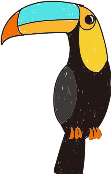 巨嘴鸟动物鸟奥林匹克奥运会