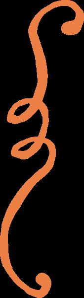 花纹花边橙色装饰感恩节