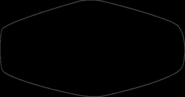 不规则矩形框简约边框创意线框