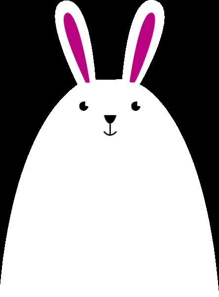 兔子可爱动物装饰卡通