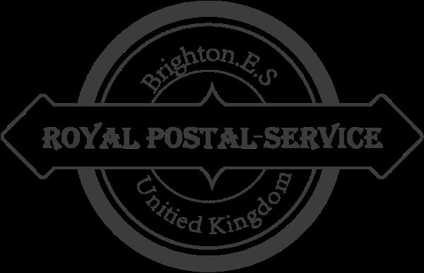 邮戳邮政图形圆标志