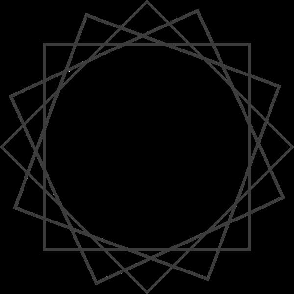 框图形线圆形圆