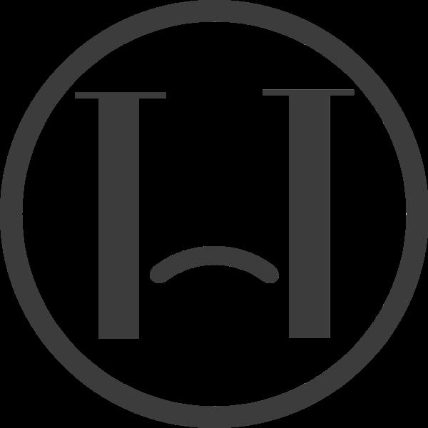 表情伤心图形标签标志