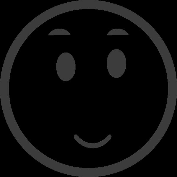 表情微笑人脸图形表情包