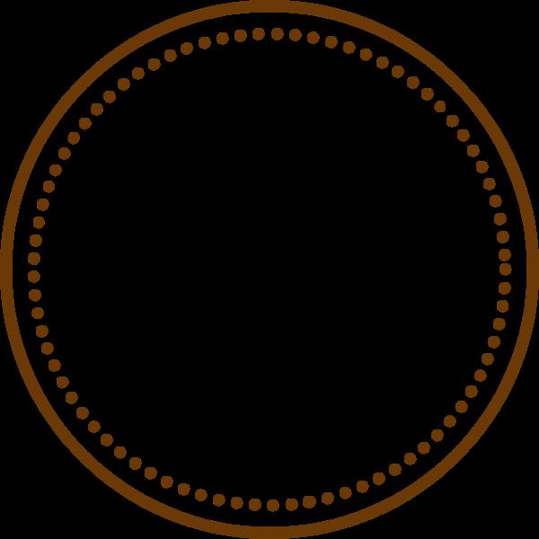 圆圆圈点圆环画框