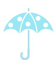 下雨雨雨伞天气