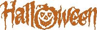萬圣節halloween英文字母字體
